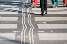 Free Crosswalk Royalty Free Stock Photo - 5018205