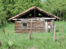 Old Hovel Stock Photography