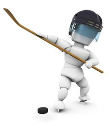 Free Ice Hockey Player Royalty Free Stock Images - 5019399