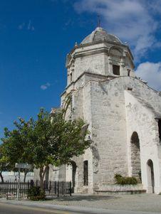 Free Old Church In Havana, Cuba Royalty Free Stock Photography - 5019677