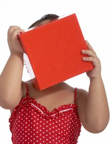 Free Young Child On Red Top Royalty Free Stock Photo - 5019775