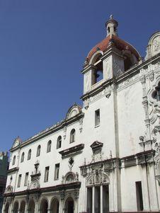 Free Old Church In Havana, Cuba Royalty Free Stock Photography - 5019887