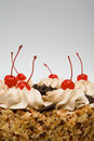 Free Sweet Pie With Cherries Royalty Free Stock Photography - 5024527