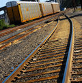 Free Railroad Track Switch Royalty Free Stock Image - 5028006