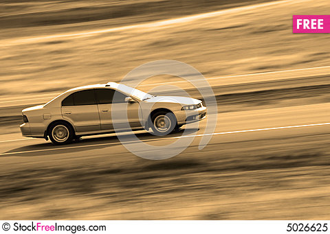 Free Driving Royalty Free Stock Photo - 5026625