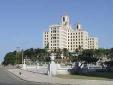 National Hotel Of Cuba, Near The Malecon Stock Photos