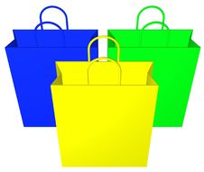 Free Shopping Bags Royalty Free Stock Photo - 5020215