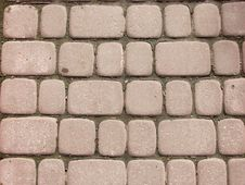 Free Red Street Tiles Royalty Free Stock Photography - 5020227