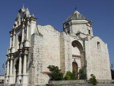 Free Old Church In Havana, Cuba Stock Image - 5020721