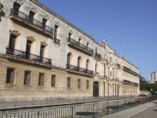 Free Old Monastery In Old Havana, Cuba Stock Photo - 5020870