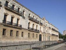 Old Monastery In Old Havana, Cuba