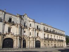 Free Old Monastery In Havana Royalty Free Stock Images - 5020909