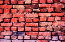 Ancient Bricks Wall Royalty Free Stock Image