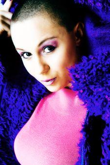 Free My Blue Pluche Sweater Stock Image - 5021411
