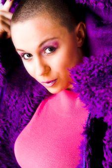 Free My Purple Sweater Stock Image - 5021491