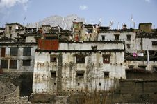 Free Traditional Village In Nepal, Muktinath Stock Photo - 5021600