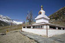 Free Buddist Monastery, Annapurna Stock Images - 5021694