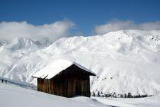 Free Alpine Cottage Royalty Free Stock Image - 5022296