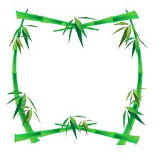 Free Bamboo Frame Royalty Free Stock Photography - 5022617