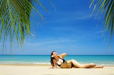 Free Tropic Lounge Stock Image - 5023181