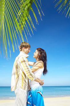 Free Tropic Couple Stock Photo - 5024090