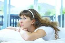 Free On Pillow Royalty Free Stock Photography - 5024667