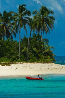 Free Paradise Island Stock Image - 5024761