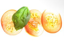Free Tomato Slices Royalty Free Stock Photos - 5024778