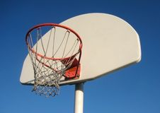 Free Basketball Net And Backboard Royalty Free Stock Photography - 5025167