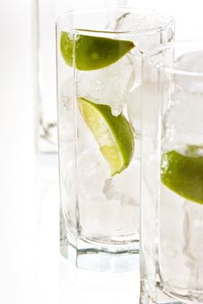 Free Cold Lime Cocktail Royalty Free Stock Image - 5025196