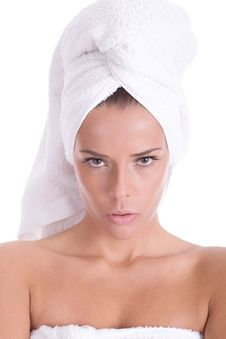 Free Spa Portrait Royalty Free Stock Photos - 5025378