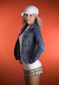 Free Teenage Fashion Model Royalty Free Stock Image - 5025636