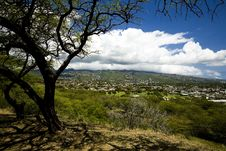 Free Koko Head Of Honolulu Royalty Free Stock Image - 5025746