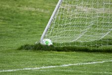 Free Ball In Goal Stock Images - 5026304