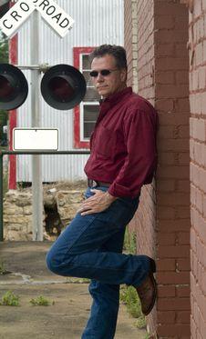 Free Railroad Man Stock Photos - 5026433