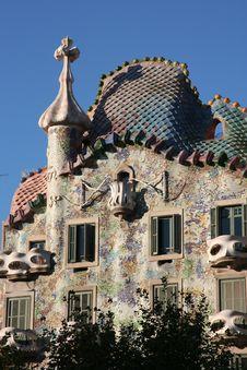Free Casa Battlo Royalty Free Stock Images - 5026569