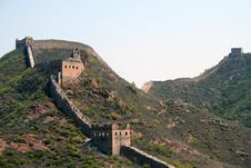 Free The Great Wall Royalty Free Stock Photos - 5027038