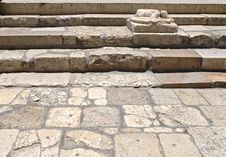 Free Ancient Steps, Jerusalem Stock Photo - 5027050