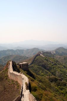 Free The Great Wall Royalty Free Stock Image - 5027056