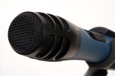 Free Black Microphone Royalty Free Stock Photography - 5027217