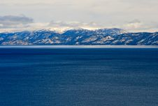 Free Lake Tahoe In Winter Stock Photos - 5027723