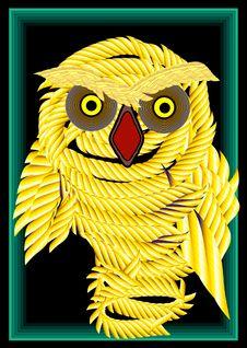 Free Owl Fearsome Royalty Free Stock Photos - 5027778