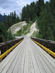 Free Wooden Bridge Stock Photography - 5028272