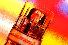 Free Whiskey Glass Abstract Stock Images - 5028714