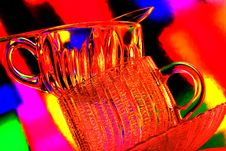 Free Glass  Teacup Abstract Stock Image - 5028791