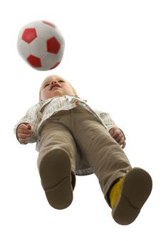 Free Baby Boy With Ball Royalty Free Stock Photos - 5029418