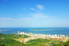 Weihai Scenery Stock Photography