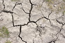 Free Close Up Picture Of Cracked Dried Soil Stock Photos - 5029633