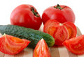 Free Vegetables On Cutting Board. Royalty Free Stock Photos - 5030178