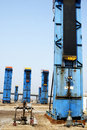 Free Cluster Oil Well Royalty Free Stock Image - 5033706